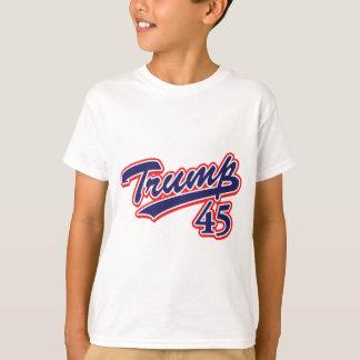 Trump-45-Blue T-Shirt