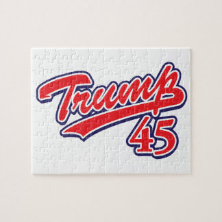 Trump 45! jigsaw puzzle