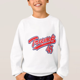 Trump-45-RED Sweatshirt