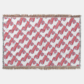 Trump-45-RED Throw Blanket