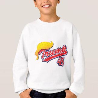 Trump-45-with-Hair Sweatshirt