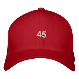 Trump 45th President Hat Embroidered Baseball Caps