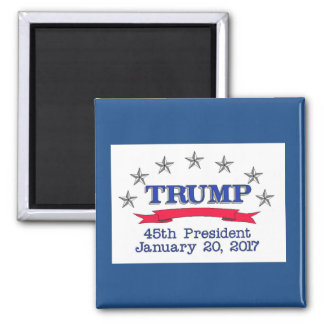 Trump 45th President Magnet