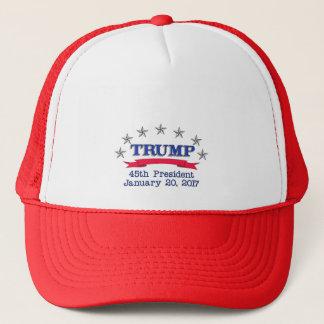 Trump 45th President Trucker Hat