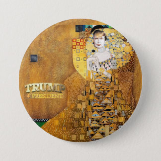 Trump 4 President 7.5 Cm Round Badge