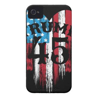 Trump American Flag Heart Case-Mate iPhone 4 Case