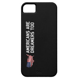 Trump Americans are dreamers too Build the wall US iPhone 5 Cover