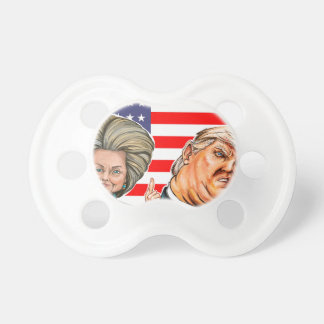 Trump and Hillary Caricature Dummy