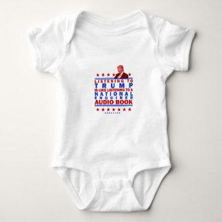 Trump AudioBook Baby Bodysuit