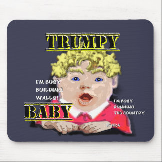 Trump Baby Mouse Pad