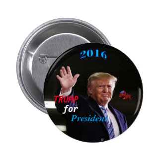 Trump Campaign Button, By AntsAfire 6 Cm Round Badge