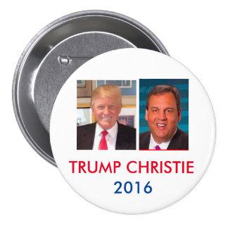 Trump & Christie 3 Inch Jugate Button