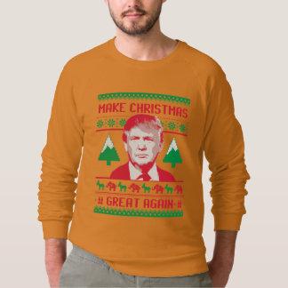 Trump Christmas - Make Christmas Great Again Sweatshirt