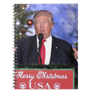 Trump Christmas Notebook