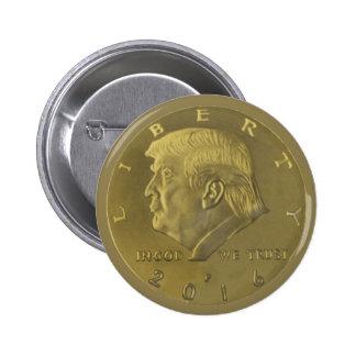 Trump Coin 6 Cm Round Badge