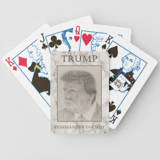 Trump, Commander in Chief Bicycle Playing Cards