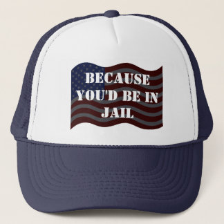 Trump Debate Quotes Hillary For Jail Lock Her Up Trucker Hat