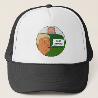 Trump Fake News Trucker Hat