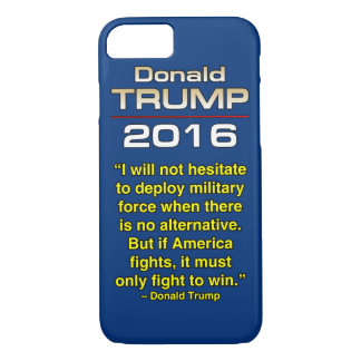 TRUMP FIGHT TO WIN iPhone 8/7 CASE