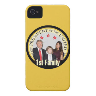 TRUMP First Family iPhone 4 Case-Mate Cases