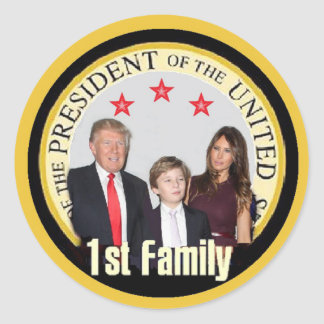 TRUMP First Family Sticker