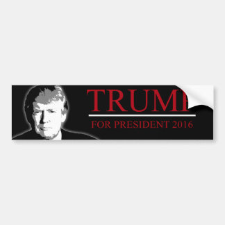Trump for President 2016 Bumper Sticker