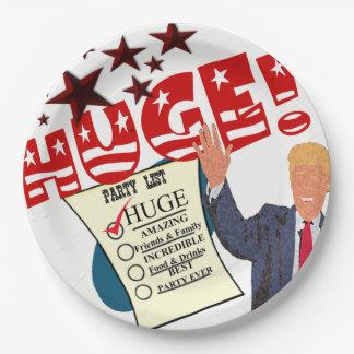 Trump HUGE Party Celebration Dinner Paper Plates