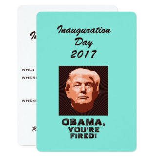 Trump Inauguration 2017 Custom Card