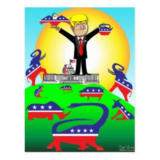 Trump Inauguration 2 Postcard