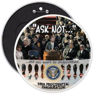 Trump Inauguration 6 Cm Round Badge