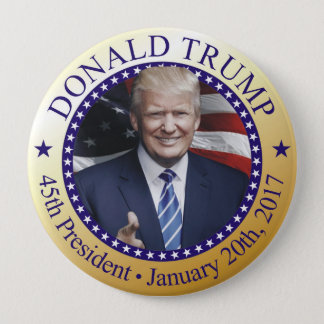 Trump Inauguration Button