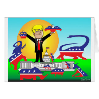 Trump Inauguration Card