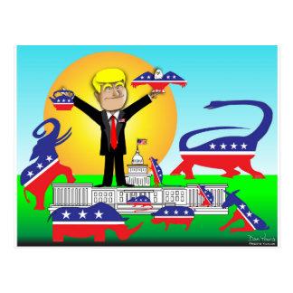 Trump Inauguration Postcard