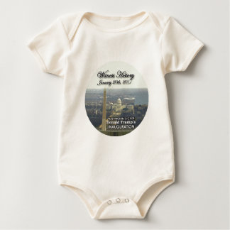 TRUMP Inaugurationn Baby Bodysuit