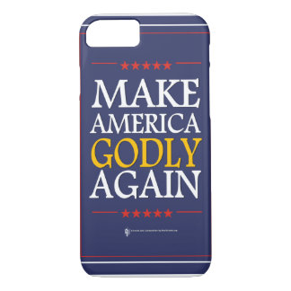 Trump - iPhone Case: Make America Godly Again iPhone 8/7 Case