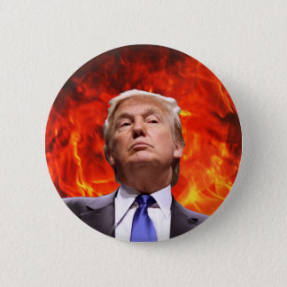 Trump Is The Devil Button
