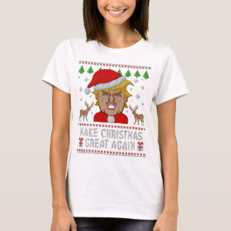 Trump Make Christmas Great Again Ugly Sweater