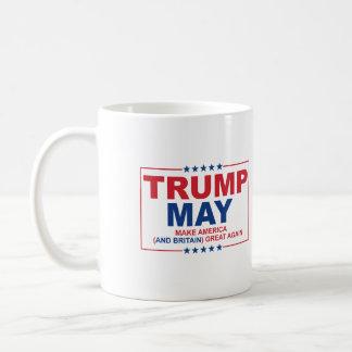 Trump May 2016 - Make American and Britain Great A Coffee Mug