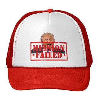 Trump: Mission failed! Cap