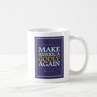 Trump - Mug: Make America Godly Again Coffee Mug