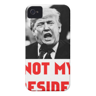 TRUMP NOT MY PRESIDENT Case-Mate iPhone 4 CASES