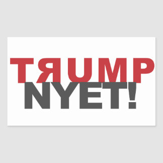 TRUMP NYET! sticker and other products
