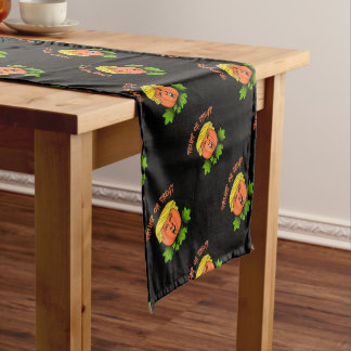 Trump or treat short table runner