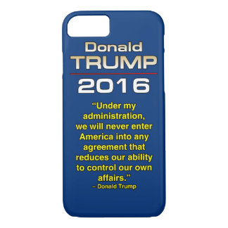 TRUMP OUR OWN AFFAIRS iPhone 8/7 CASE