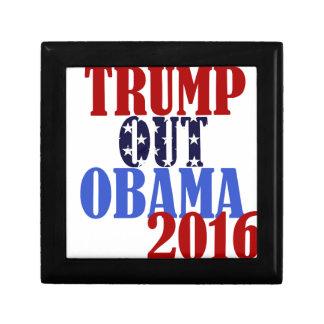 Trump Out Obama 2016 Small Square Gift Box