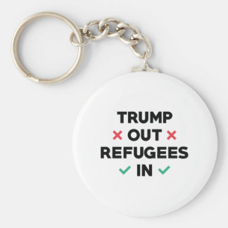 Trump Out Refugees In Key Ring
