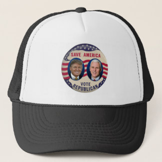 TRUMP PENCE 2016 TRUCKER HAT