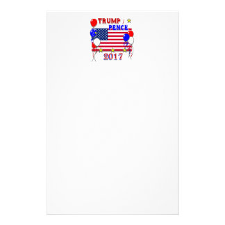 Trump Pence 2017 Inauguration Stationery