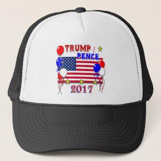 Trump Pence 2017 Inauguration Trucker Hat