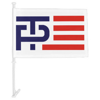 Trump Pence Campaign Logo Car Flag